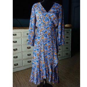Lucky Brand Karin Wrap Dress